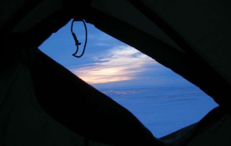 Байкал зимой соло